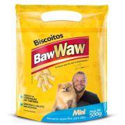 Biscoito Mini P/ Cães Raças Pequenas 500g - Baw Waw