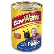 Patê enlatado sabor Frango  para Cães 280g - BAW WAW