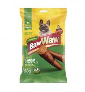 Bifinho sabor Carne e Vegetais RPM Caixa com 60 Unidades com 50grs cada - Baw Waw
