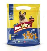 Biscoito MINI P/ Cães Raças Pequenas - Caixa 20 Unidades de 200g - BAW WAW