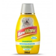 Shampoo Branqueador para Cães 500ml - BAW WAW