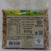 ARROZ CATETO INTEGRAL C/ VERMELHO 500g