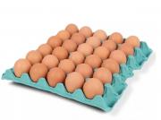 Bandeja com 30 Ovos Caipiras Agricultor Amarildo