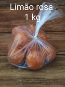 Limão Rosa Orgânico - 1kg  Rancho Ecológico
