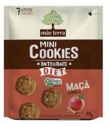 Mini Cookie Orgânico Maça e Canela Diet  - Mãe Terra 25G