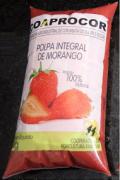 POLPA ORGÂNICA DE MORANGO 1KG