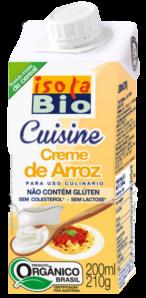 Creme de Arroz Cuisine Isolabio 200ml