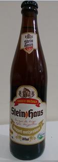 Cerveja German Pilsen Orgânica Steinhaus 500ml