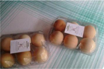 Ovos Caipiras ( Amarildo) 1 Dúzia