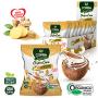 Chips de Coco Orgãnico Sabor Gengibre com Açúcar de Coco COPRA 20g