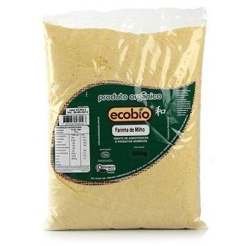 FUBÁ DE MILHO ORGANICA 500G ECOBIO