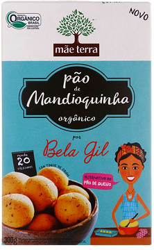 Mistura para Pão de Mandioquinha Orgânico Mãe Terra 300g