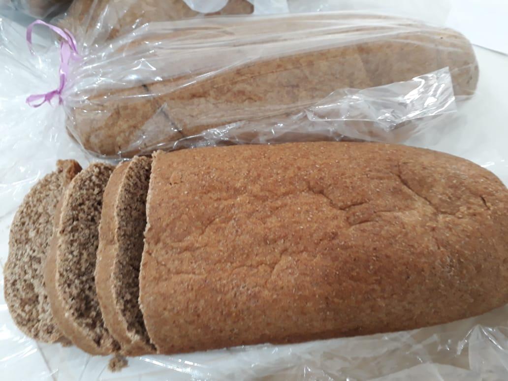 Pão 100% Integral (Ingredientes Orgânicos)  400g