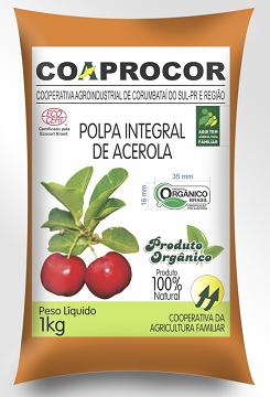 POLPA DE ACEROLA  10 DE 100g    TOTAL 1KG
