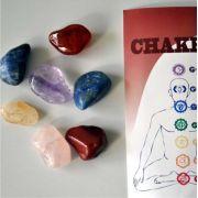 kit 7 chakras - pedras grandes