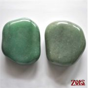 Kit Pedras Posicionamento Quartzo Verde