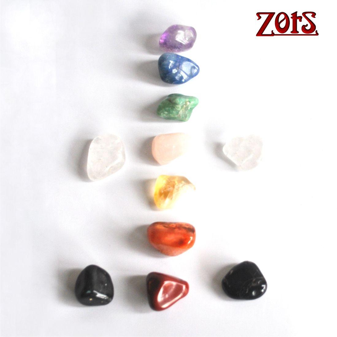 Kit 11 Pedras dos Chakras