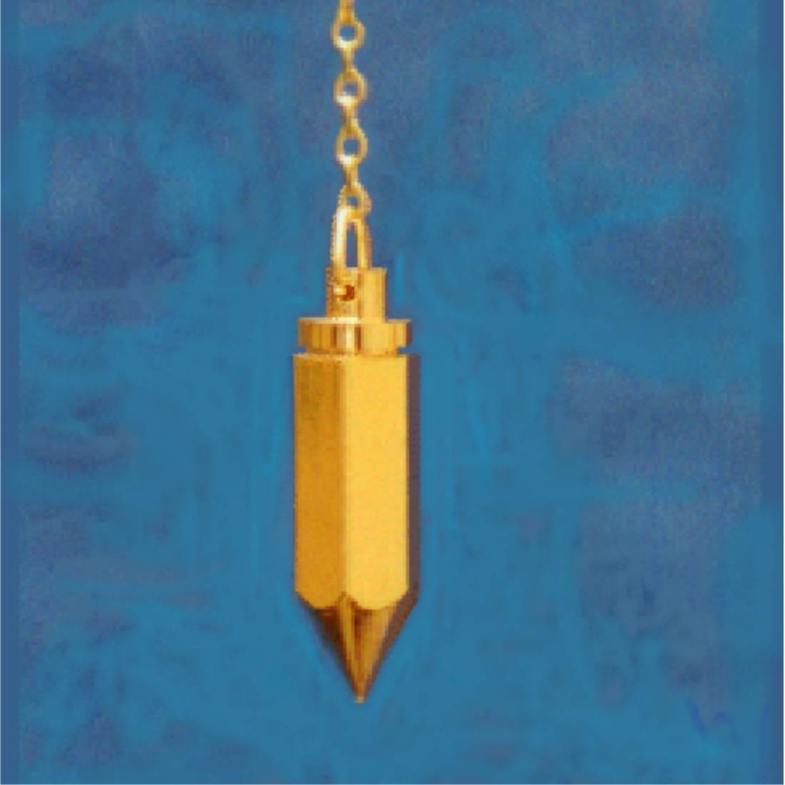 Pêndulo Testemunho Dourado