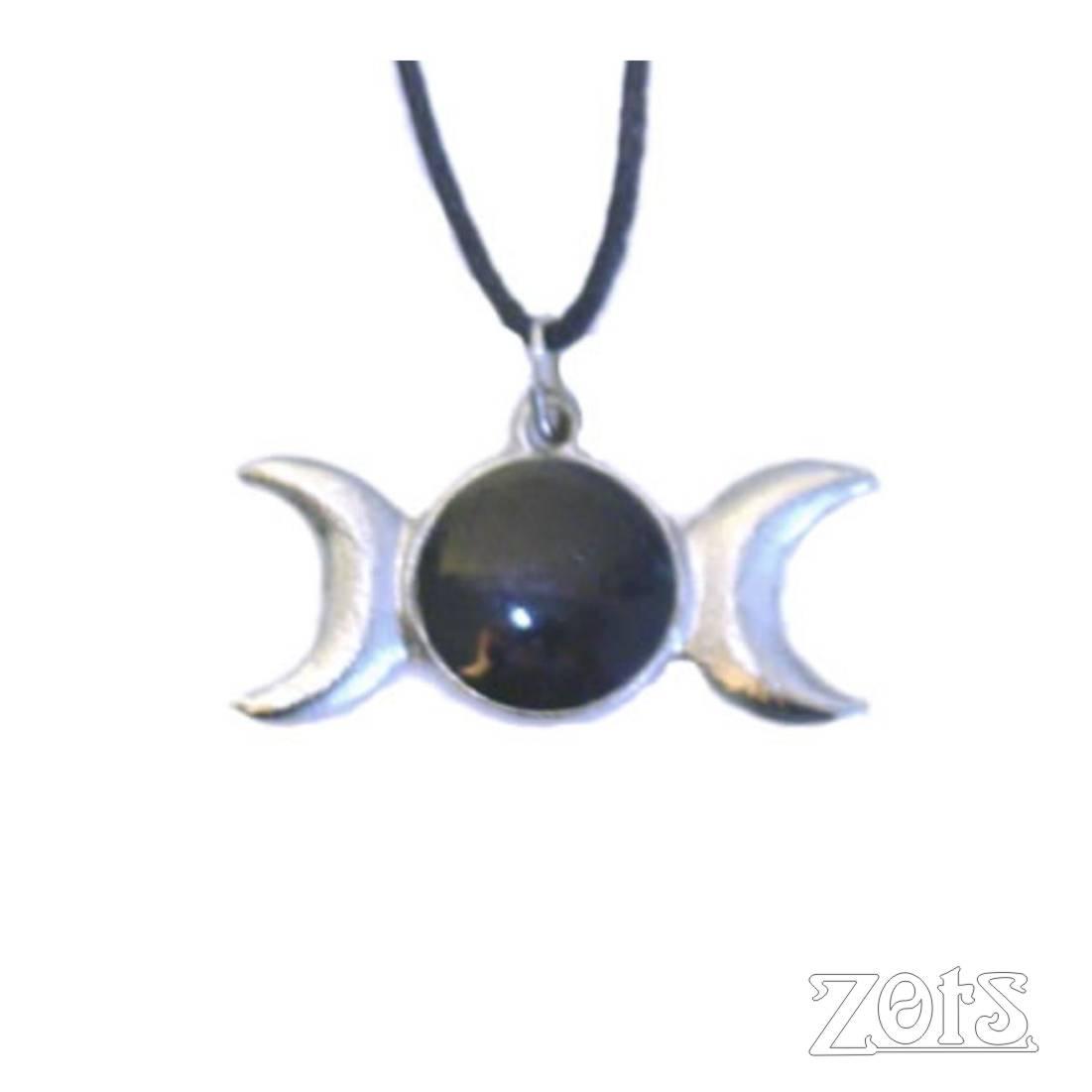 Pingente Triluna Preto