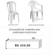 Contribua para a Aquisição da Cadeira Plástica