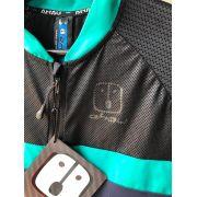Camisa Ciclismo Label Navy SKIN - Feminina