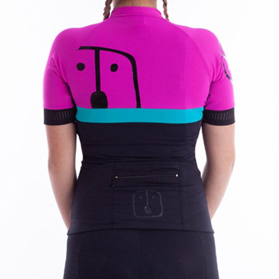 Camisa Ciclismo Aussie Black - Feminina