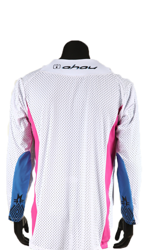 Camisa Warrior White Enduro Motocross - Masculina
