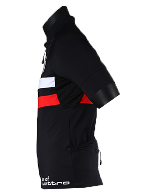 Camisa Ciclismo Audi Black - Masculina