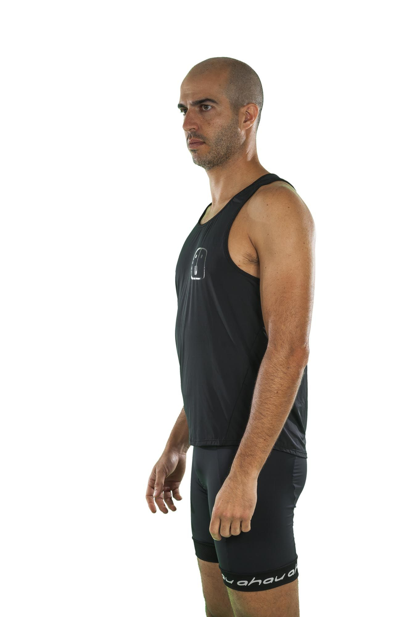 Regata Running Black - Masculina