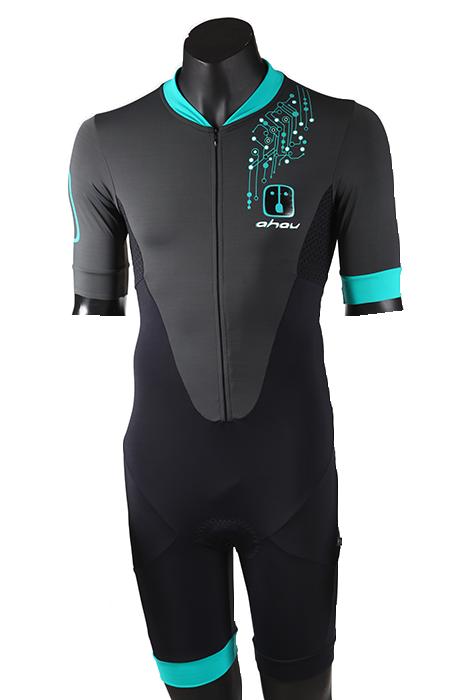 Speedsuit Bike Triathlon Bit Jade - Masculino