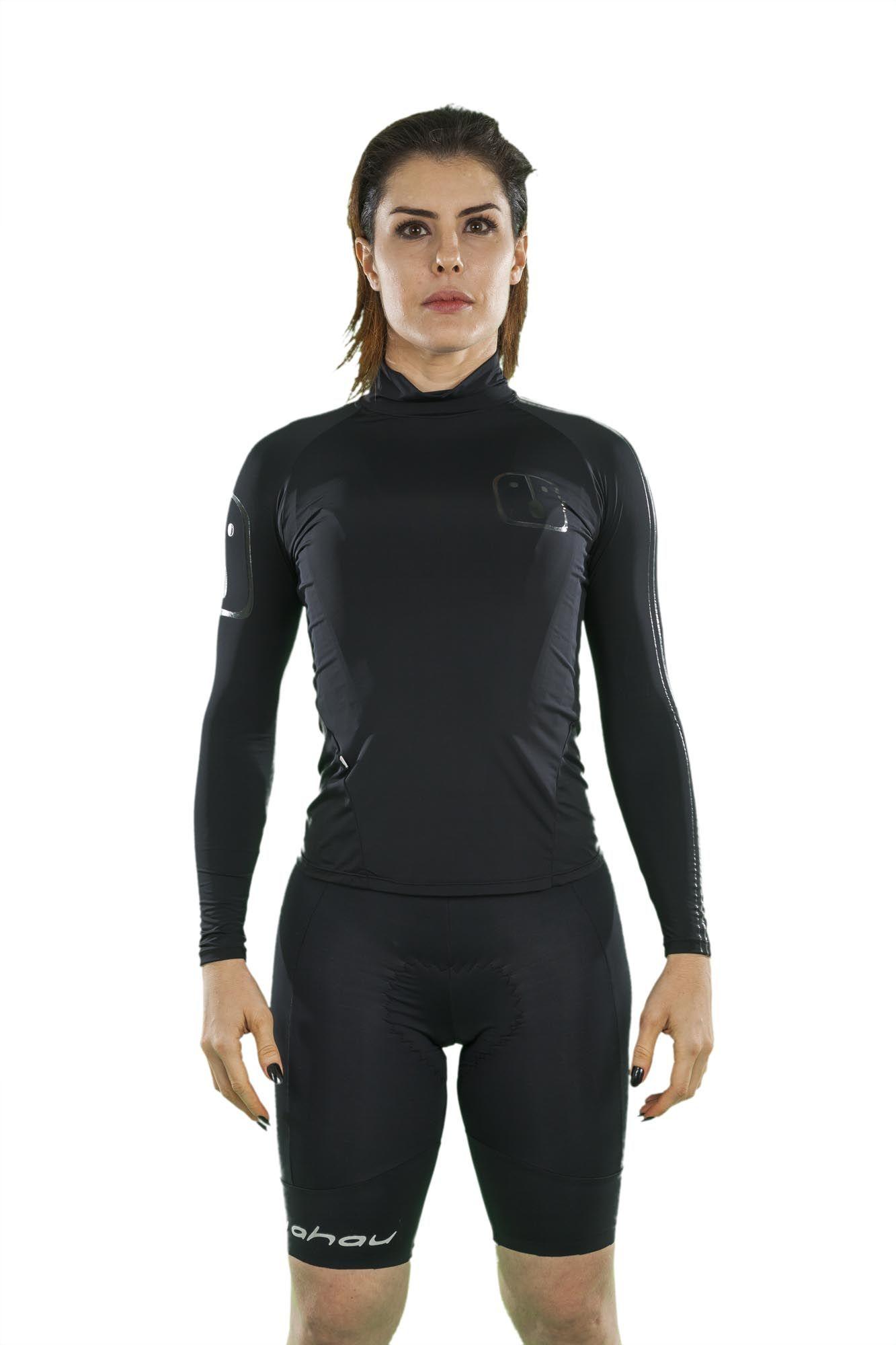 T-Shirt H2O Black - Feminina