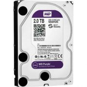HD 2TB Western Digital WD Purple Intelbras Surveillance Hard Drive