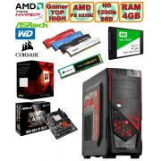 Computador - PC Gamer TOP High Amd FX8320E 3.2GHz (4.0GHz Max Turbo) + Hd SSD + Acessorios