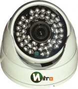 Camera Hdcvi Hd 1mp 720p 48 leds 3,6mm IR Cut 50mt 1280x720 Aluminio Ip66