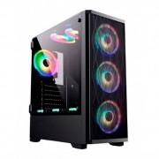 Gabinete gamer Bluecase BG-025 Lateral Vidro Temperado (SEM CAIXA) - mATX / ATX e Micro ATX 2 baias de 3,5
