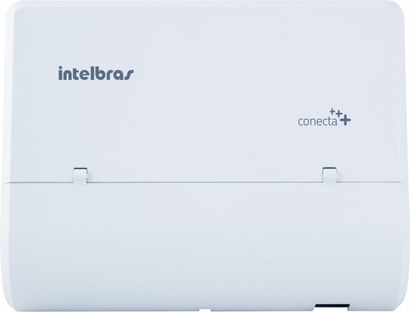 Microcentral de telefonia Intelbras Pabx fixa e sem fio Conecta + (2 tr e 04 rm)