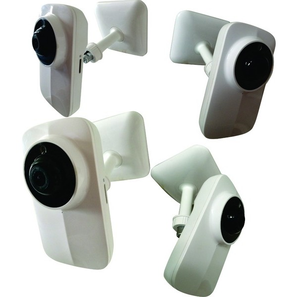 Camera Ip Onvif Hd Wifi 1.0mp 720p 4mm 1280x720 H264 Audio Teto