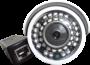 Camera IP Full HD Bullet PoE 1080p 2 mp 3,6mm 40 mt infra Blue iris 32 Leds