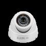 Camera Elgin Dome AHD 720P 1 Megapixel 2,8mm 18 Leds SMD Ângulo de Visão 82º IR 25 Metros