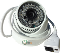 Câmera Ip Onvif 2.0 Hd  Dome 1.3mp 3,6mm 960p 50m 48 Leds 1280*960 H264