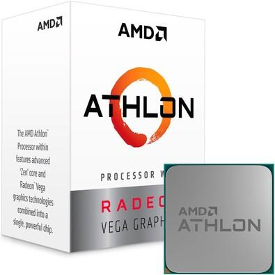 Computador PC Gamer Athlon 200GE 3.2Ghz Apu Vega 3 Graphics - A320M AM4 - 8GB DDR4 - SSD 240gb