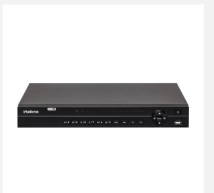 Dvr Multi HD Gravador Digital de Vídeo Intelbras MHDX 1032 32 Canais HDCVI, AHD, HDTVI, IP e analógico