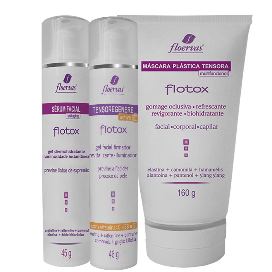 Kit Facial - Botox Cosmético - Efeito Dermorelax e Anti-aging