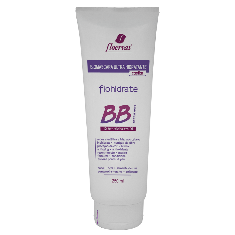 Cód. 302 - Biomáscara Ultra Hidratante BB Cream 12 em 1  - 250 ml
