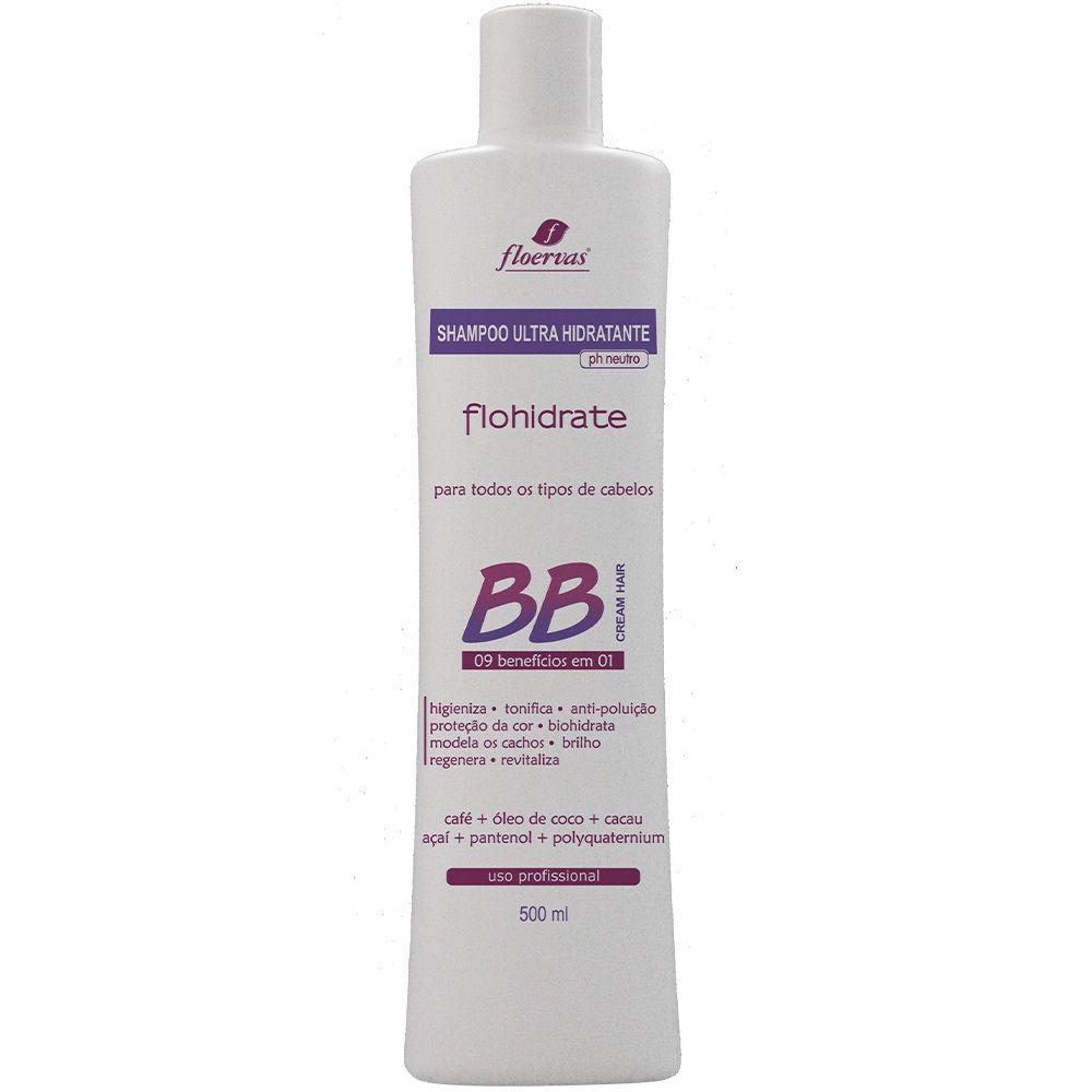 Cód. P504 - Shampoo Ultra Hidratante BB Crean  - 500 ml