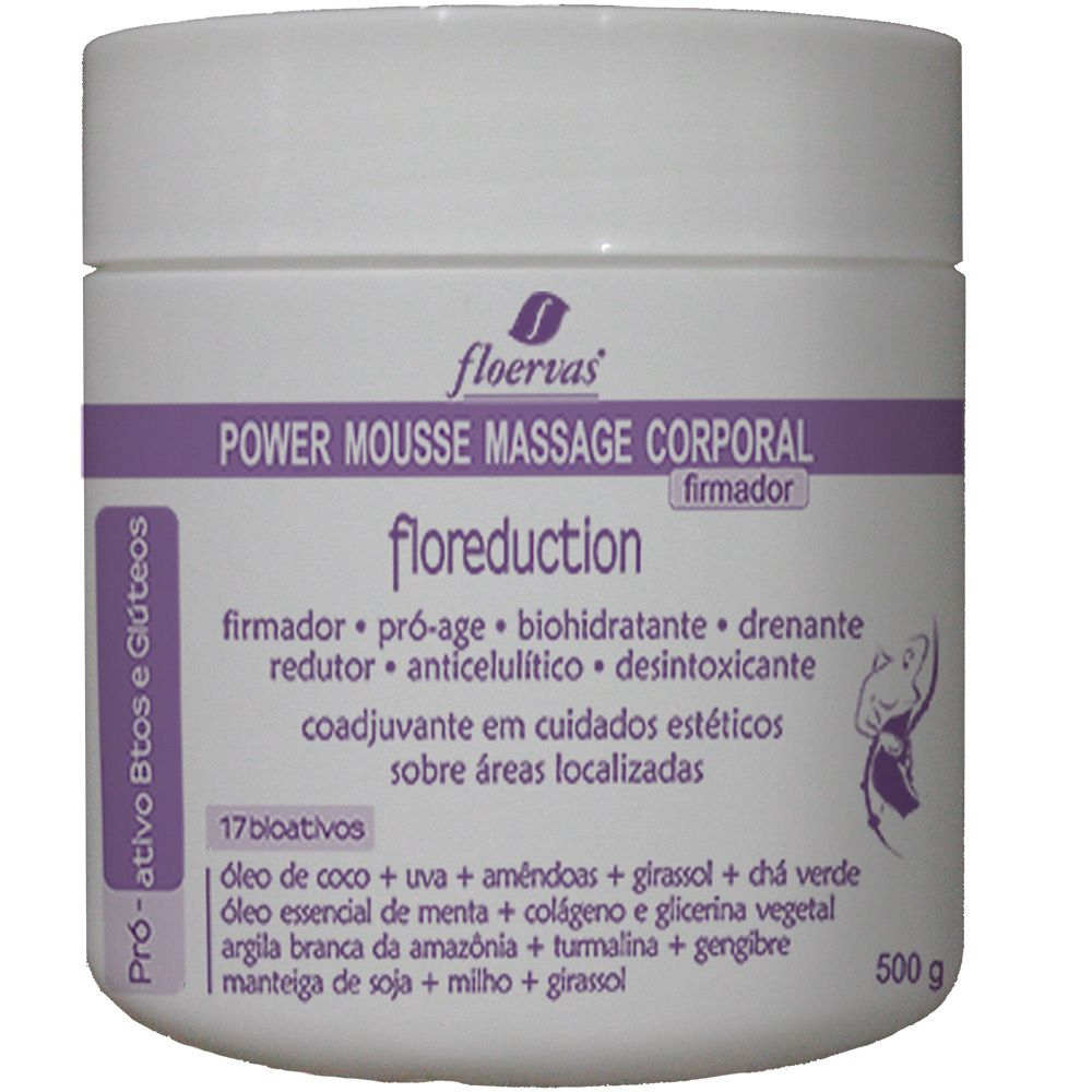Cód. P780 - Power Mousse Massage - Firmador- 500g