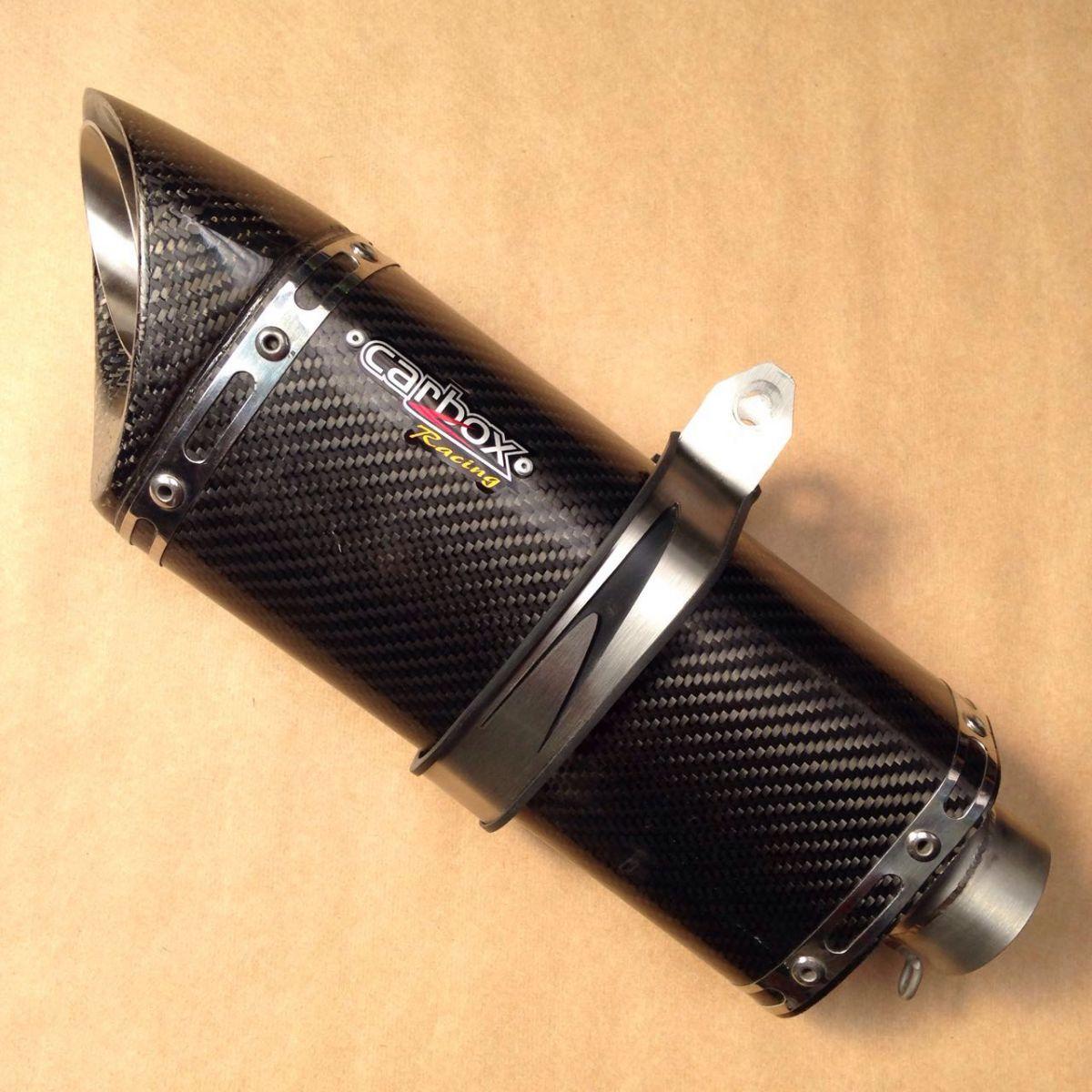 Ponteira Escapamento Scorpion S720 Carbon Full 2x1 - CB1000r Todas