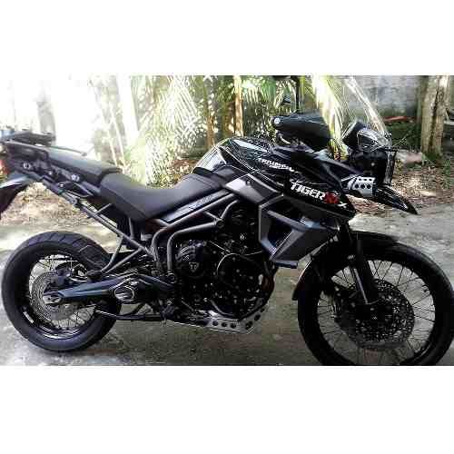 Ponteira Escape No Muffler Black - Tiger 800
