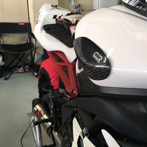 Protetor De Tanque - Fibra De Carbono - Daytona 675R