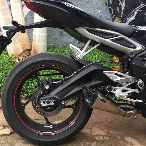 Ponteira Escape Scorpion Gp720 Inox Street Triple 765 Rs/s